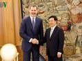 España considera a Vietnam un socio importante en Asia-Pacífico, dice el rey Felipe VI