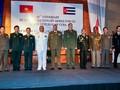 Celebran en Vietnam el 61 aniversario de las Fuerzas Armadas cubanas