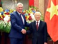 Relaciones con Vietnam tienen un carácter histórico y especial, afirma presidente de Cuba