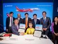 Vietjet firma grandes contratos con gigantes corporaciones aeroespaciales