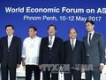 Numerosos líderes extranjeros participarán en el Foro Económico Mundial sobre la Asean