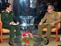 Vietnam y Cuba intensifican las relaciones de amistad entre sus fuerzas armadas