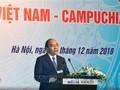 Premieres de Vietnam y Camboya asisten al Foro de Negocios Bilateral