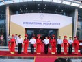 APEC 2017 : Inauguration du Centre international de presse