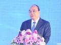 Nguyên Xuân Phuc à la conférence du Conseil de la région économique de pointe du Centre