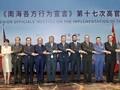 ASEAN-Chine: 17e Conférence des hauts officiels sur la mise en oeuvre de la DOC