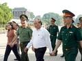 Premierminister Nguyen Xuan Phuc überprüft die Restaurierung des Ho Chi Minh Mausoleums