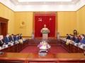 Министр общественной безопасности То Лам провел переговороы с министром внутренних дел Литвы
