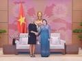 Нгуен Тхи Ким Нган приняла зампредседателя Европейской комиссии  Федерику Могерини