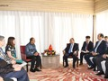 PM Vietnam, Nguyen Xuan Phuc menerima Ketua Kamar Dagang dan Industri Indonesia, Ketua Perusahaan Nikko (Indonesia) serta Presiden Grup Ciputra