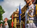 Peringatan ultah ke-51 berdirinya ASEAN - Upacara Bendera ASEAN