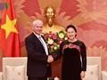 Ketua MN Vietnam, Nguyen Thi Kim Ngan menerima Jaksa  Agung  Hungaria, Péter POLT