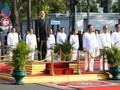 Kamboja dengan gembira mengadakan upacara peringatan ultah ke-65 Hari Kemerdekaan