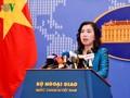 US-Marineschiff fährt über Inselgruppe Truong Sa: Vietnam fordert die Länder, die Gesetze in Hoheitsgebiete zu respektieren