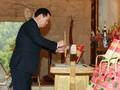 Vize-Premierminister Vuong Dinh Hue besucht die nationale historische Gedenkstätte Pac Bo