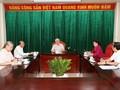 응우옌 푸 쫑 (Nguyễn Phú Trọng) 서기장 – 국가주석,  핵심 지도자 회의 주재