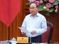 응우옌 쑤언 푹 국무총리, 13기 당대회 경제사회소위원회 회의 주재