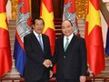 នាយករដ្ឋមន្រ្តីវៀតណាមលោក Nguyen Xuan Phuc អញ្ជើញជួបចរចាជាមួយ នាយករដ្ឋមន្រ្តីកម្ពុជា សម្ដេច តេជោ ហ៊ុន សែន