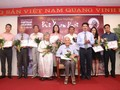 """Bui XuanPhai – For Love of Hanoi"" award announced"