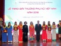Winners of 2018 Vietnam Women's Awards honoured