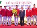 Les sportifs vietnamiens prêts pour les 18e Jeux d'Asie