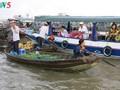 Ciri budaya yang khas di pasar terapung daerah Nam Bo Barat
