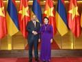 Ketua MN Nguyen Thi Kim Ngan melakukan pertemuan dengan PM Armenia, Nikol Pashinyan
