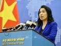 Meminta kepada Tiongkok supaya segera menghentikan pelanggaran, menarik semua kapal dari zona ekonomi eksklusif Viet Nam