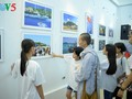 """Amor hacia el mar e islas patrias en la exposición """"Truong Sa en mi corazón"""""""