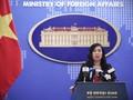 Vietnam reitera posición sobre la libre navegación en el Mar Oriental y su soberanía marítima