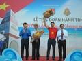 Inician recorrido de jóvenes vietnamitas por Truong Sa