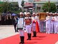 ド・ムオイ元書記長も追悼式と埋葬式