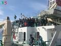 チュオンサ諸島にテト用品を運ぶ