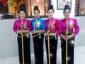 黒タイ族の結婚式の「タン・カウ」という儀式