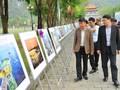 ニンビン省でベトナムの海と島の写真展