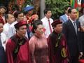 フン王の命日記念式典