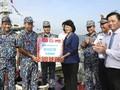 ティン国家副主席 海軍の第2軍区を訪れる
