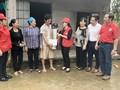ベトナム赤十字協会 洪水被災地を支援