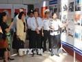 Laut dan pulau  Viet Nam: Pembukaan pameran tentang laut dan pulau, prajurit angkatan laut