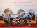 Melakukan kerjasama internasional untuk memecahkan  masalah sampah plastik di Laut Timur
