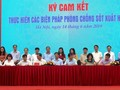 Menyambut Hari ASEAN tentang pencegahan dan pemberantasan penyakit demam  berdarah tahun 2019