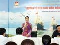 Kota Ho Chi Minh mengarah ke daerah perbatasan, laut dan pulau dari Tanah Air