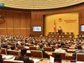 L'Assemblée nationale ratifie la candidature au poste de président de la République