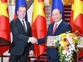 Entretien Nguyên Xuân Phúc - Dmitry Medvedev