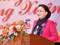 Reprise du travail après le Têt : Nguyên Thi Kim Ngân présente ses vœux de Nouvel an