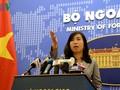 外務報道官、再び中国に抗議