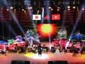 日越音楽会、アジア国の文化を讃える