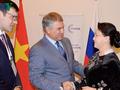 ガン国会議長、ロシア下院議長と会見