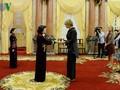 ティン国家主席代行、信任状を贈呈するため訪れた各国大使と会見