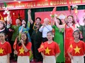 チョン党書記長・国家主席、ハノイ市の民族大団結祭りに参加